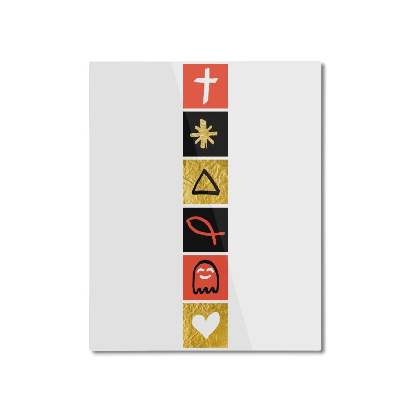 That Life Home Mounted Aluminum Print by Doodles Invigorate's Artist Shop