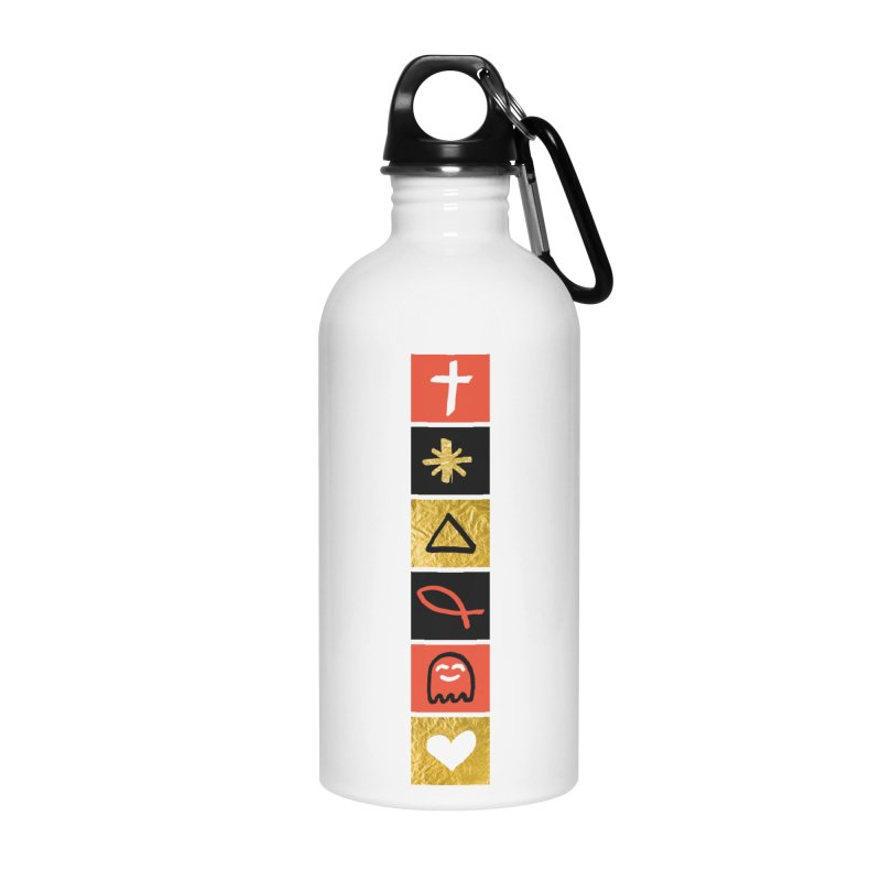 That Life Accessories Water Bottle by Doodles Invigorate's Artist Shop
