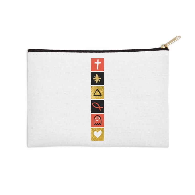 That Life Accessories Zip Pouch by Doodles Invigorate's Artist Shop