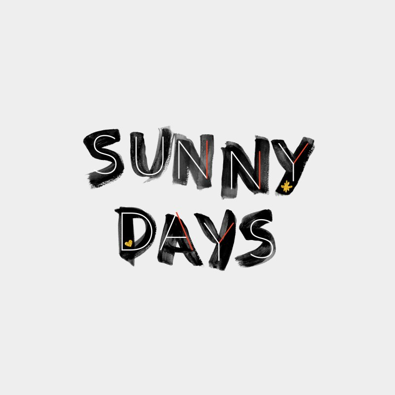 Sunny Days Women's V-Neck by Doodles Invigorate's Artist Shop
