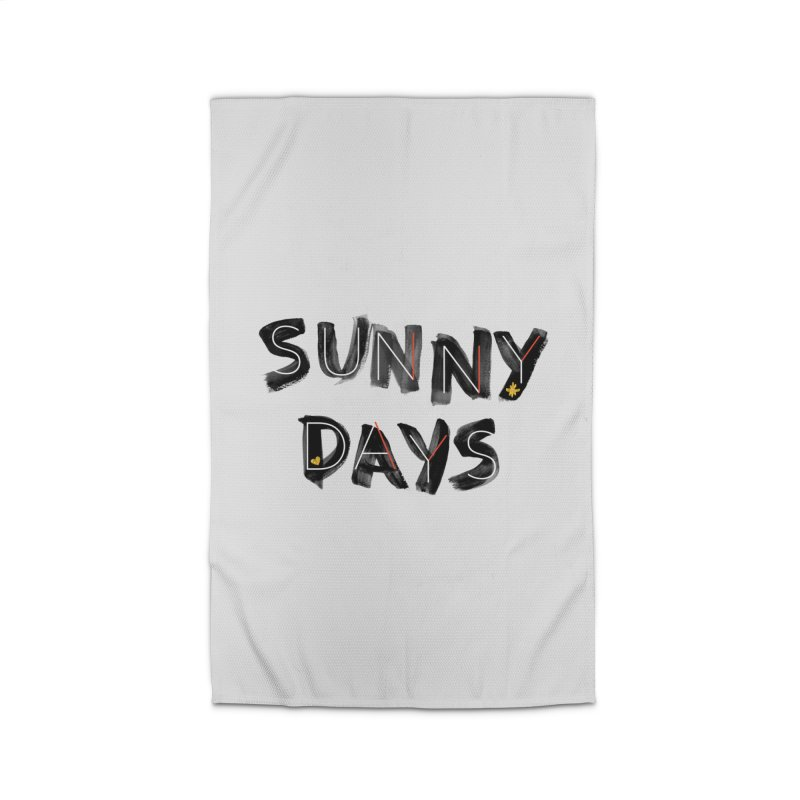 Sunny Days Home Rug by Doodles Invigorate's Artist Shop