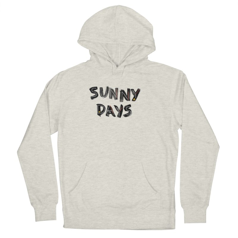 Sunny Days Men's French Terry Pullover Hoody by Doodles Invigorate's Artist Shop