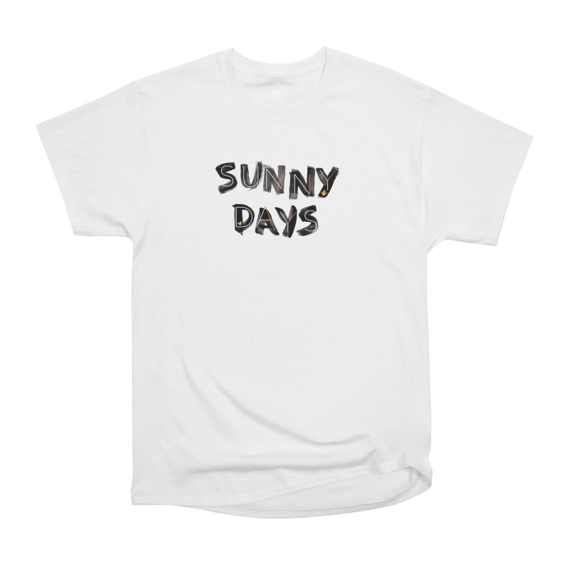 Sunny Days Men's Heavyweight T-Shirt by Doodles Invigorate's Artist Shop