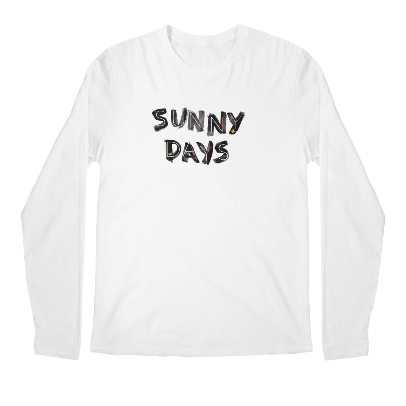 Sunny Days Men's Regular Longsleeve T-Shirt by Doodles Invigorate's Artist Shop