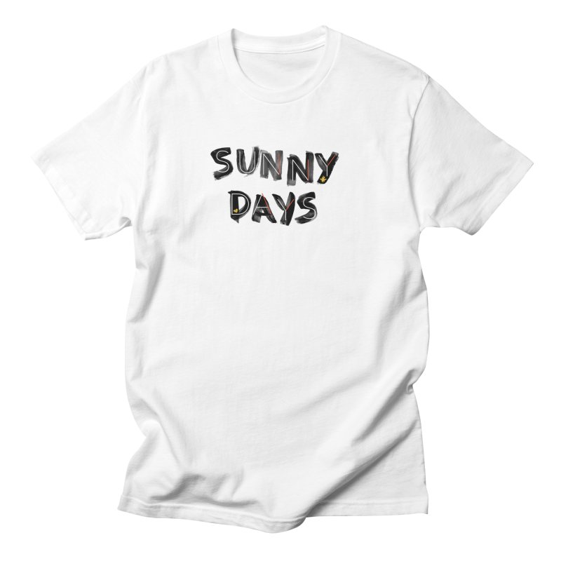Sunny Days Men's Regular T-Shirt by Doodles Invigorate's Artist Shop