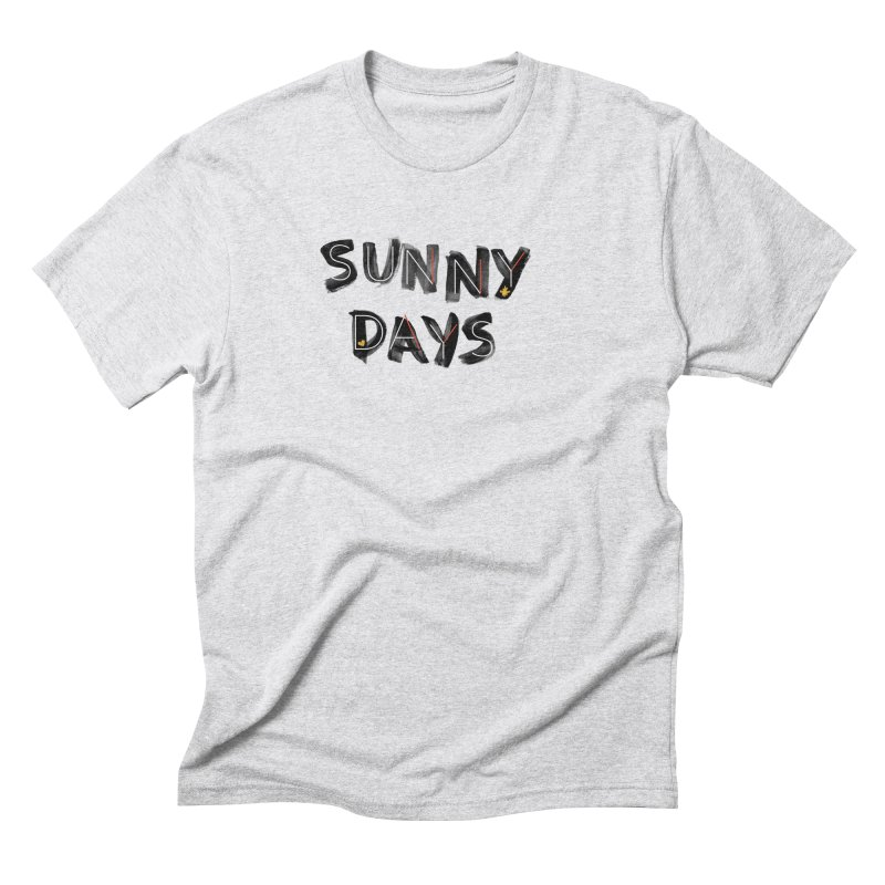 Sunny Days Men's Triblend T-Shirt by Doodles Invigorate's Artist Shop