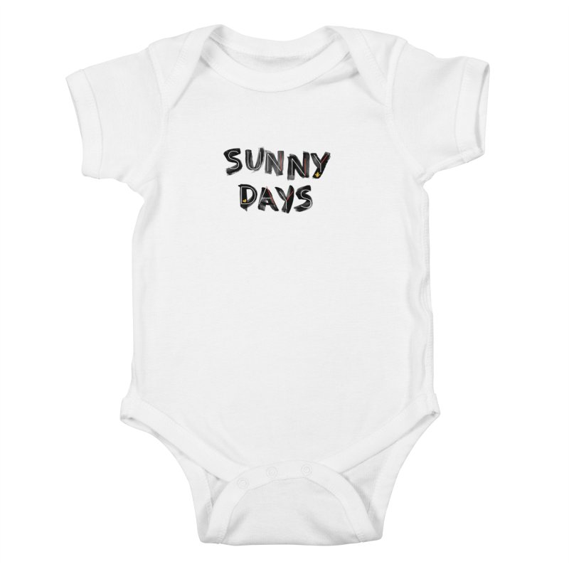 Sunny Days Kids Baby Bodysuit by Doodles Invigorate's Artist Shop