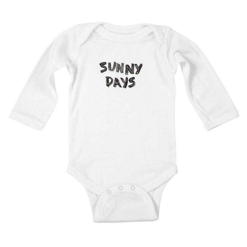 Sunny Days Kids Baby Longsleeve Bodysuit by Doodles Invigorate's Artist Shop