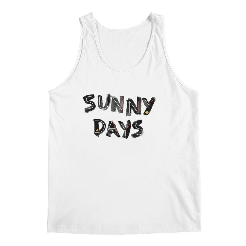 Sunny Days Men's Regular Tank by Doodles Invigorate's Artist Shop