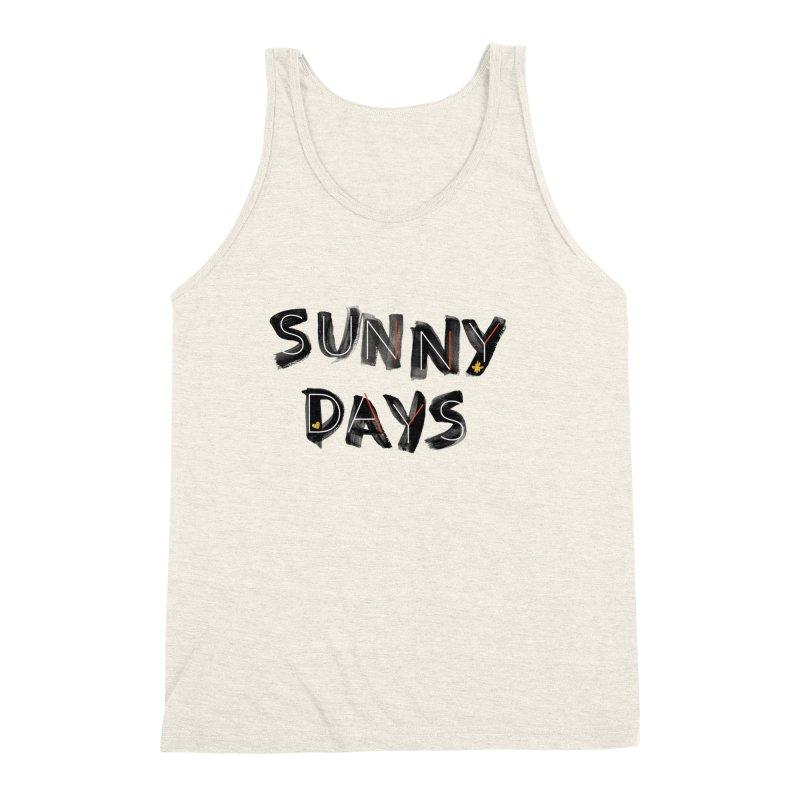 Sunny Days Men's Tank by Doodles Invigorate's Artist Shop