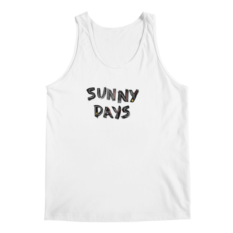 Sunny Days Men's Regular Tank by Doodles Invigorate's Artist Shop