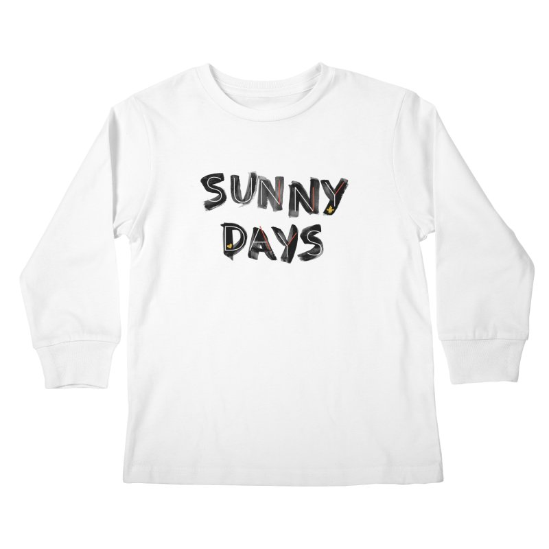Sunny Days Kids Longsleeve T-Shirt by Doodles Invigorate's Artist Shop