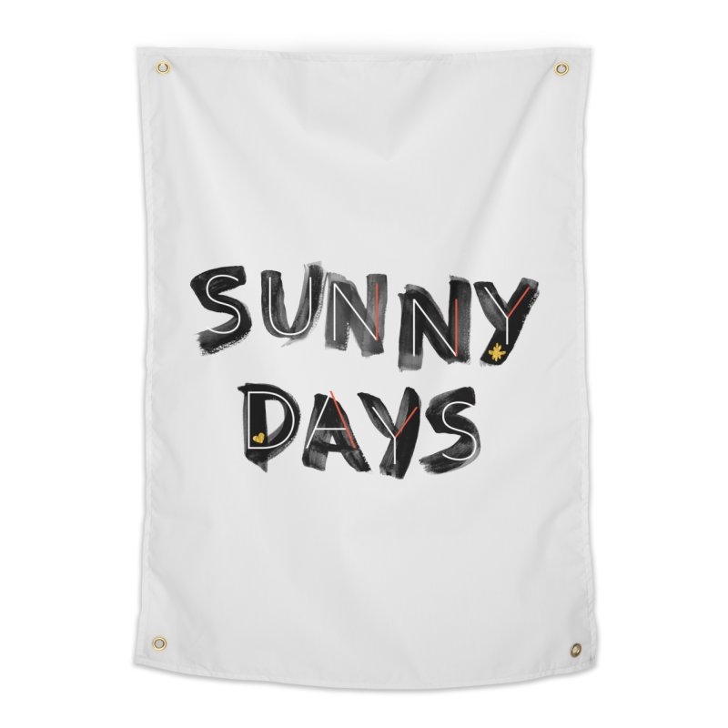 Sunny Days Home Tapestry by Doodles Invigorate's Artist Shop