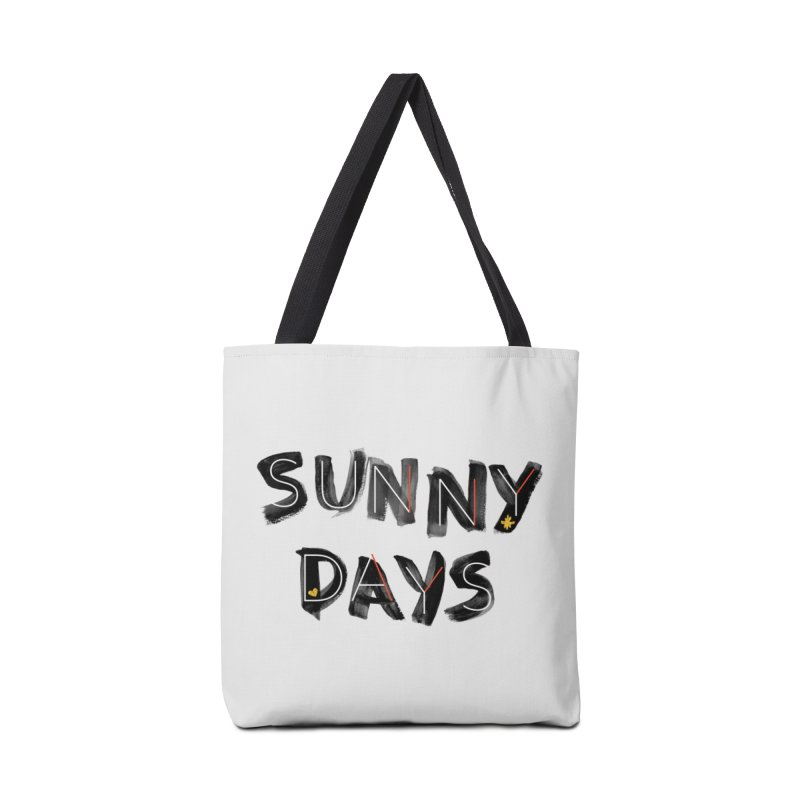 Sunny Days Accessories Bag by Doodles Invigorate's Artist Shop