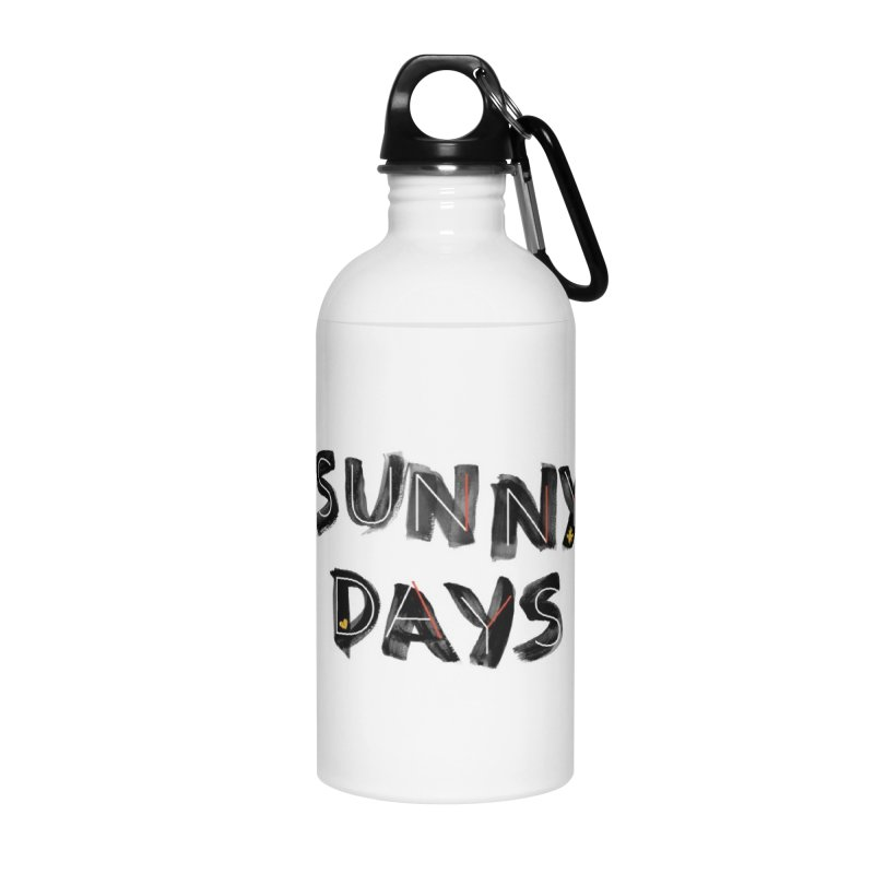 Sunny Days Accessories Water Bottle by Doodles Invigorate's Artist Shop