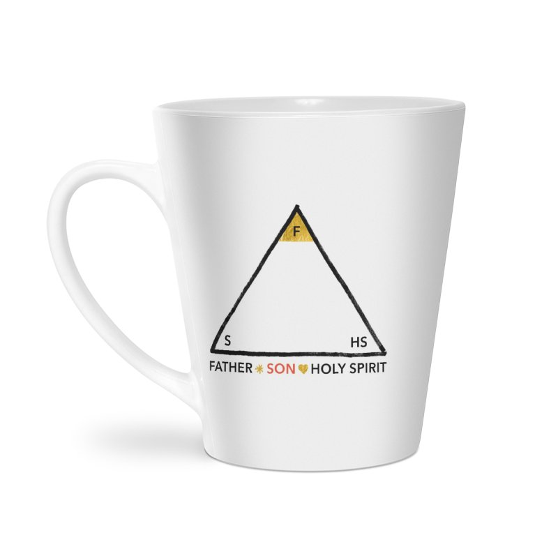 Father. Son. Holy Spirit. Accessories Mug by Doodles Invigorate's Artist Shop