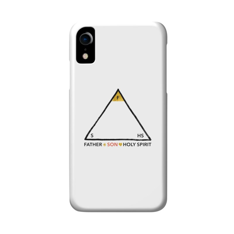 Father. Son. Holy Spirit. Accessories Phone Case by Doodles Invigorate's Artist Shop