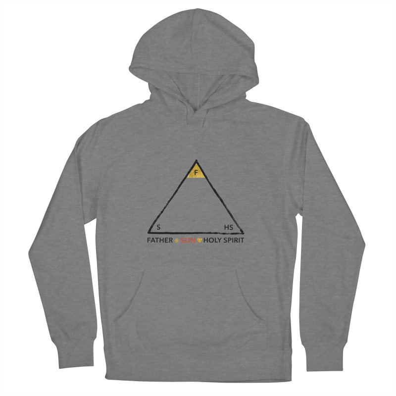 Father. Son. Holy Spirit. Women's French Terry Pullover Hoody by Doodles Invigorate's Artist Shop