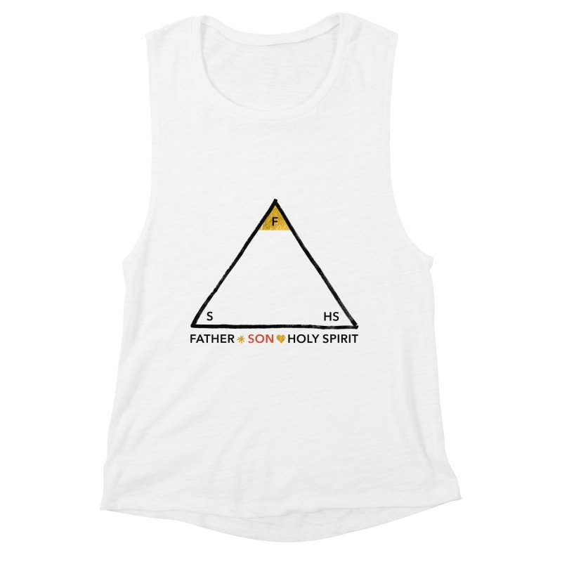 Father. Son. Holy Spirit. Women's Tank by Doodles Invigorate's Artist Shop