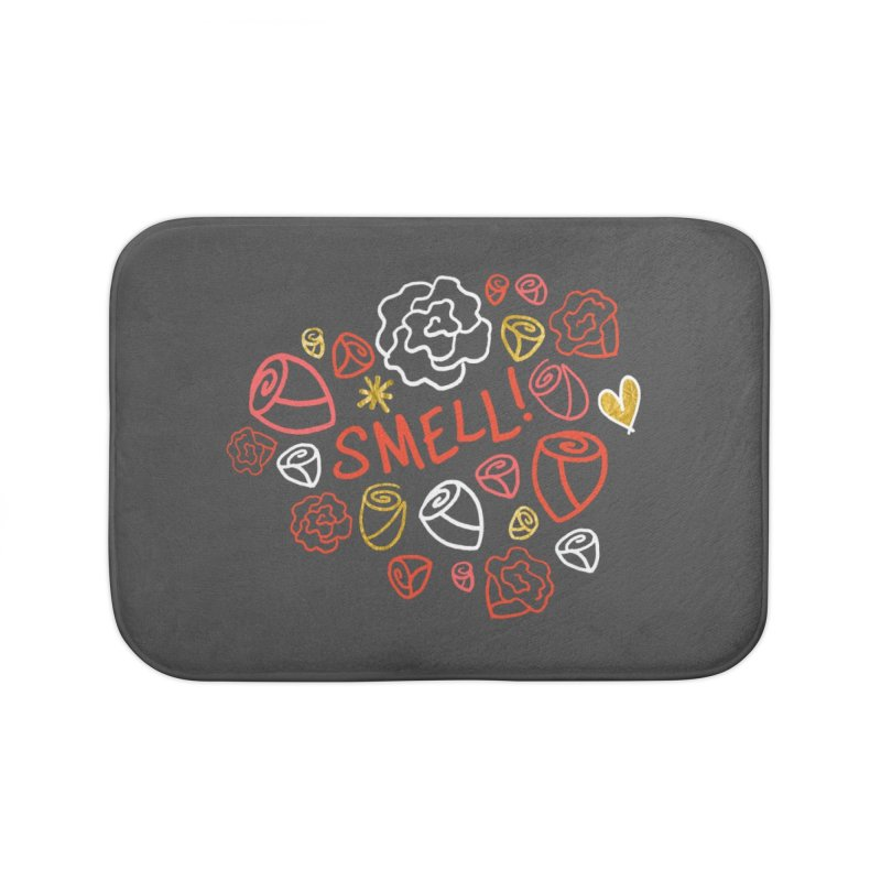 Smell! Home Bath Mat by Doodles Invigorate's Artist Shop