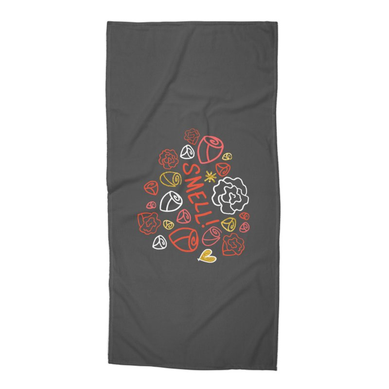 Smell! Accessories Beach Towel by Doodles Invigorate's Artist Shop