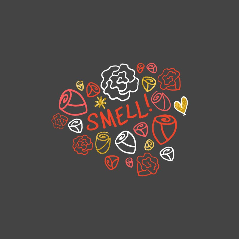 Smell! Home Mounted Aluminum Print by Doodles Invigorate's Artist Shop