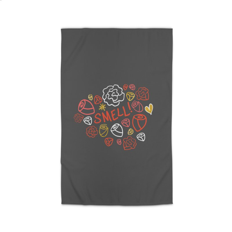 Smell! Home Rug by Doodles Invigorate's Artist Shop