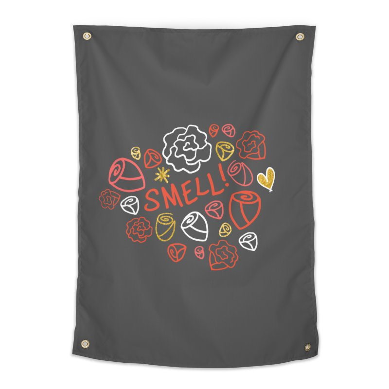Smell! Home Tapestry by Doodles Invigorate's Artist Shop