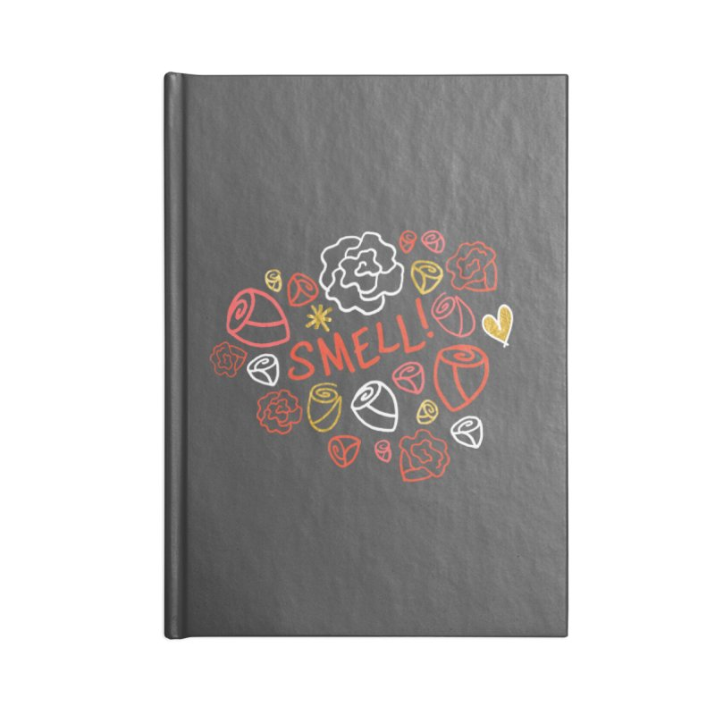 Smell! Accessories Blank Journal Notebook by Doodles Invigorate's Artist Shop