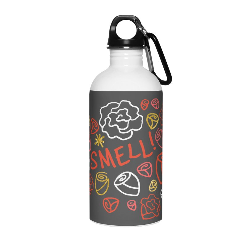 Smell! Accessories Water Bottle by Doodles Invigorate's Artist Shop