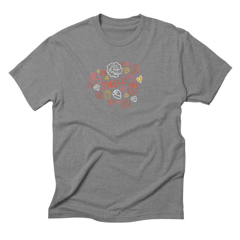 Smell! Men's Triblend T-Shirt by Doodles Invigorate's Artist Shop