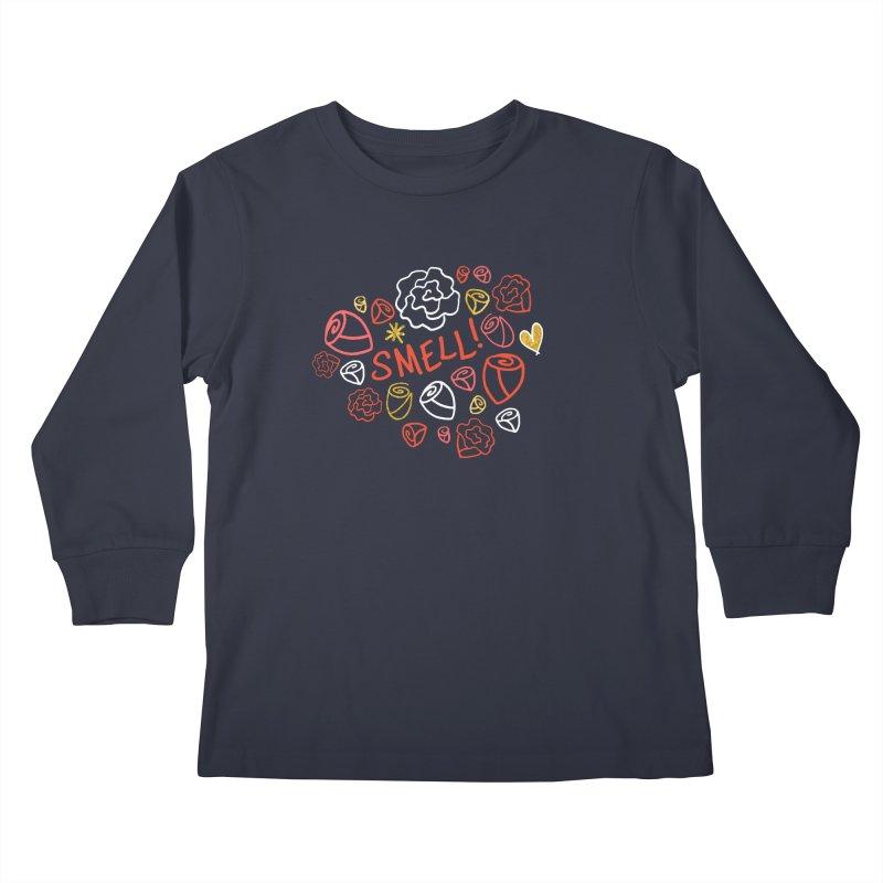 Smell! Kids Longsleeve T-Shirt by Doodles Invigorate's Artist Shop