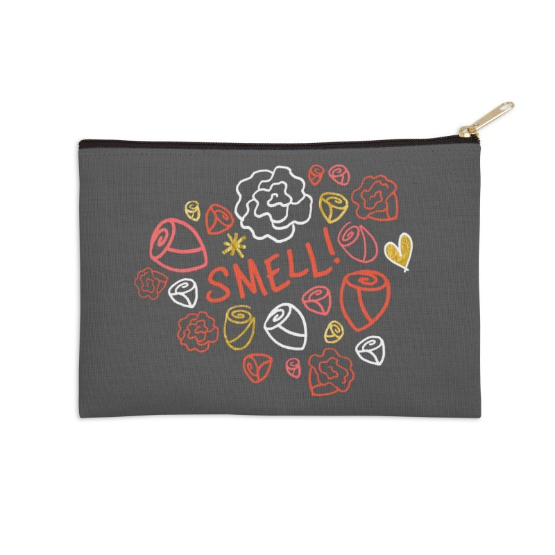 Smell! Accessories Zip Pouch by Doodles Invigorate's Artist Shop