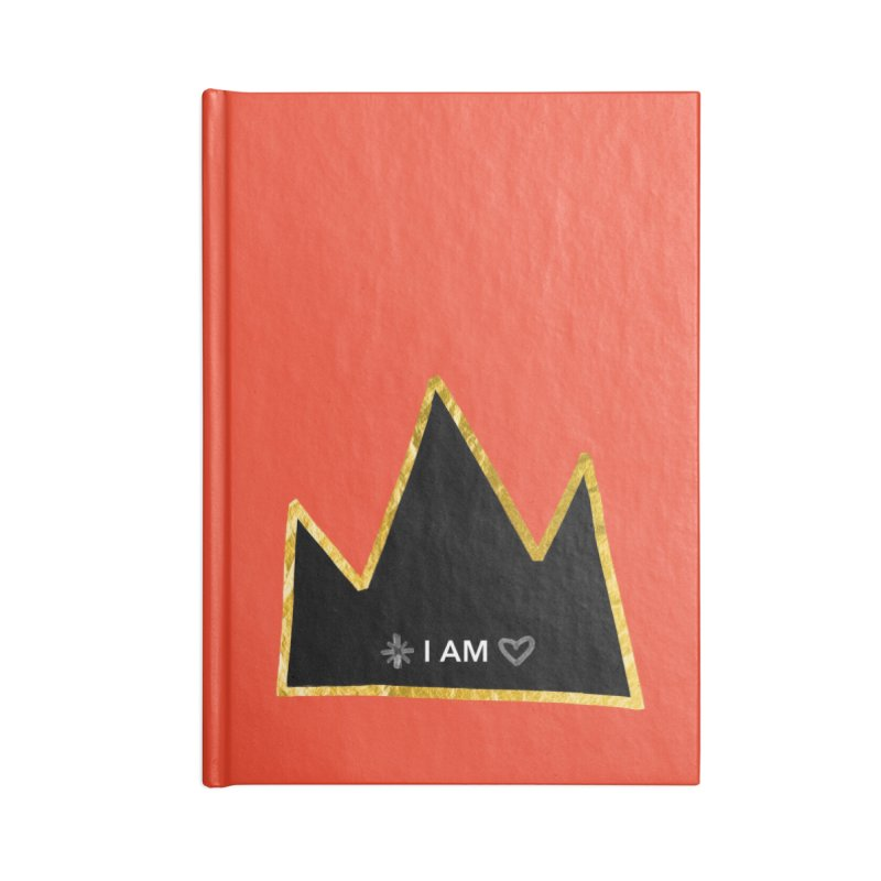 Royalty Accessories Blank Journal Notebook by Doodles Invigorate's Artist Shop