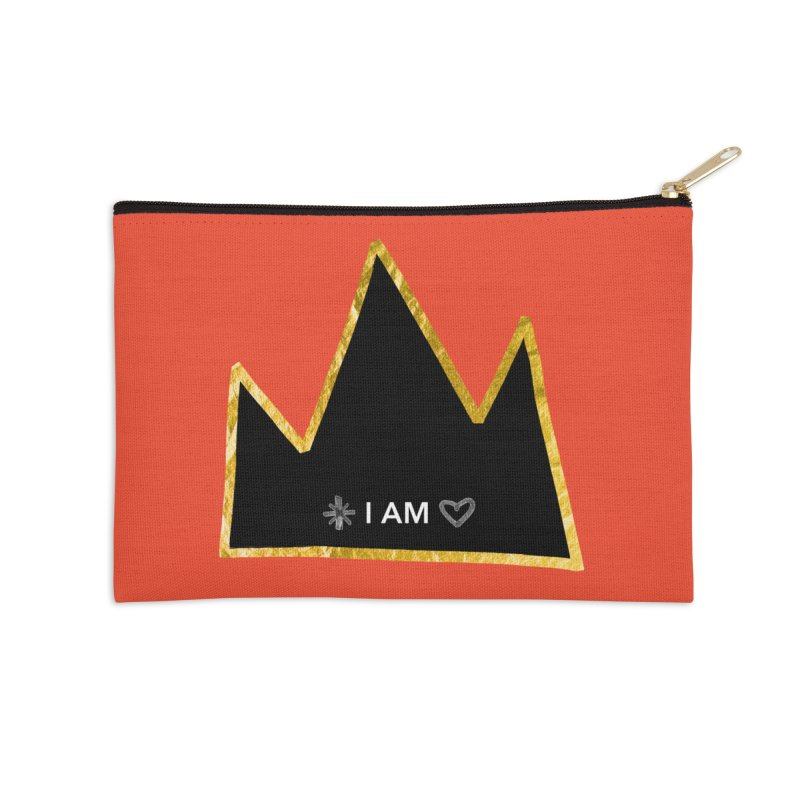Royalty Accessories Zip Pouch by Doodles Invigorate's Artist Shop