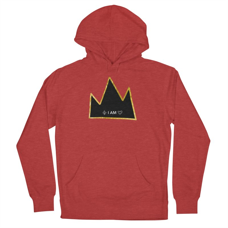 Royalty Women's French Terry Pullover Hoody by Doodles Invigorate's Artist Shop