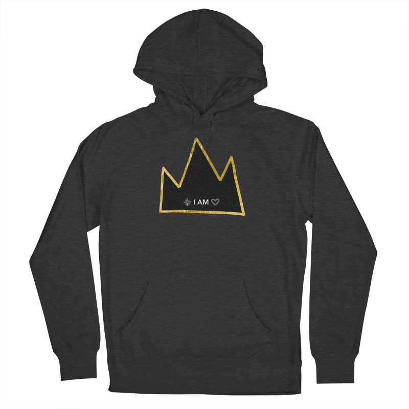 Royalty Men's French Terry Pullover Hoody by Doodles Invigorate's Artist Shop