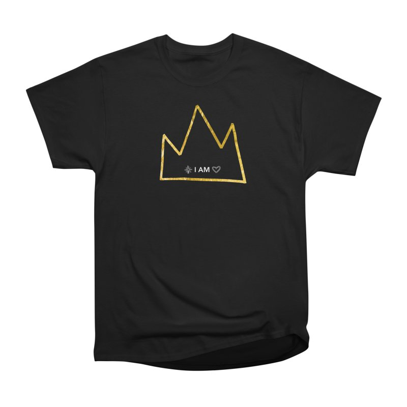 Royalty Women's Heavyweight Unisex T-Shirt by Doodles Invigorate's Artist Shop