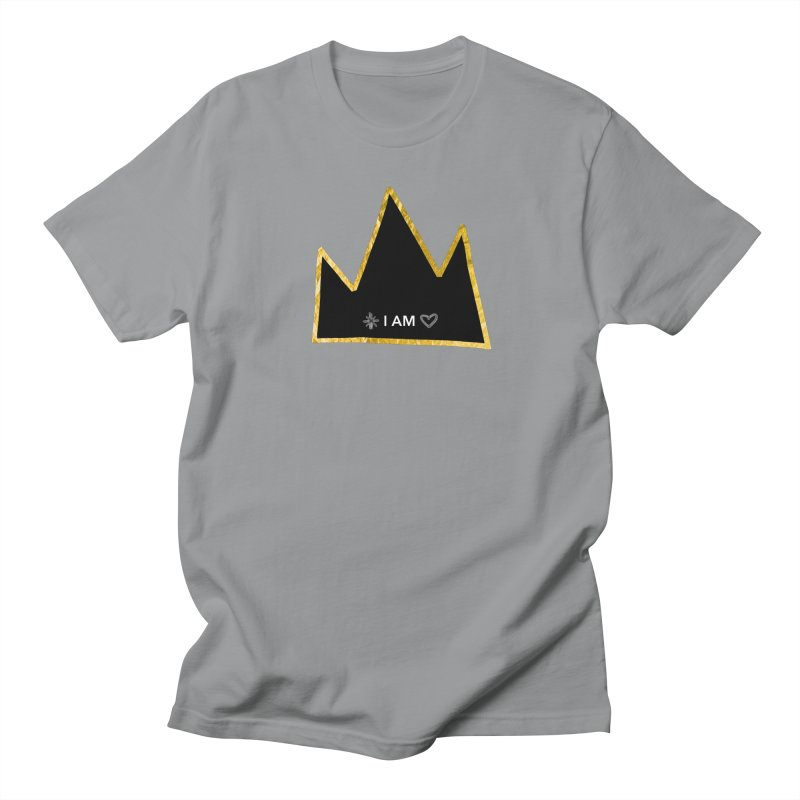 Royalty in Men's Regular T-Shirt Slate by Doodles Invigorate's Artist Shop