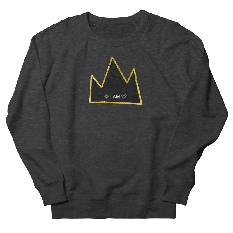 Royalty Women's French Terry Sweatshirt by Doodles Invigorate's Artist Shop