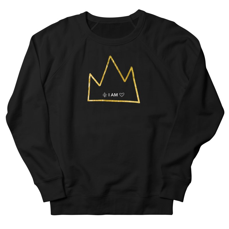 Royalty Men's French Terry Sweatshirt by Doodles Invigorate's Artist Shop