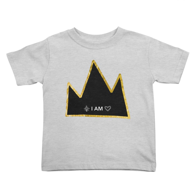 Royalty Kids Toddler T-Shirt by Doodles Invigorate's Artist Shop