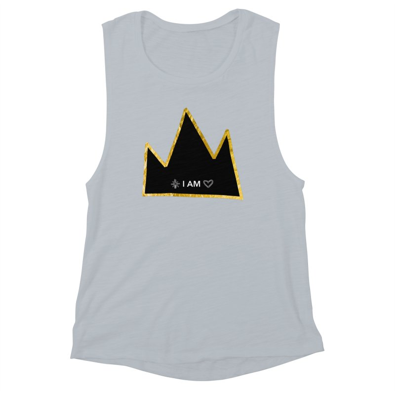 Royalty Women's Muscle Tank by Doodles Invigorate's Artist Shop