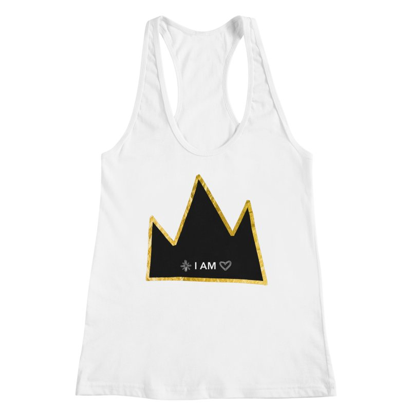 Royalty Women's Racerback Tank by Doodles Invigorate's Artist Shop