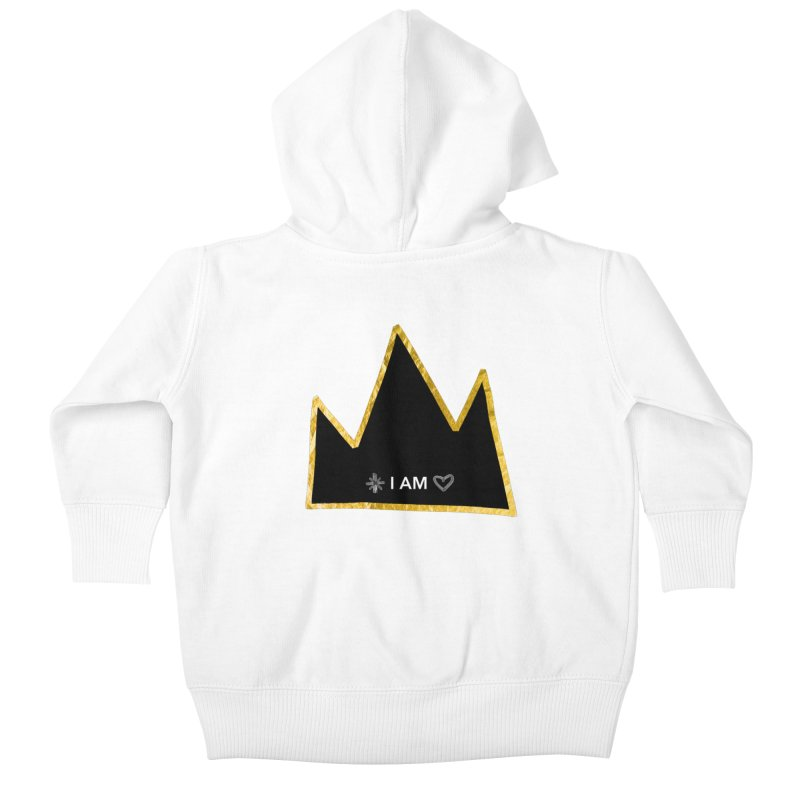 Royalty Kids Baby Zip-Up Hoody by Doodles Invigorate's Artist Shop