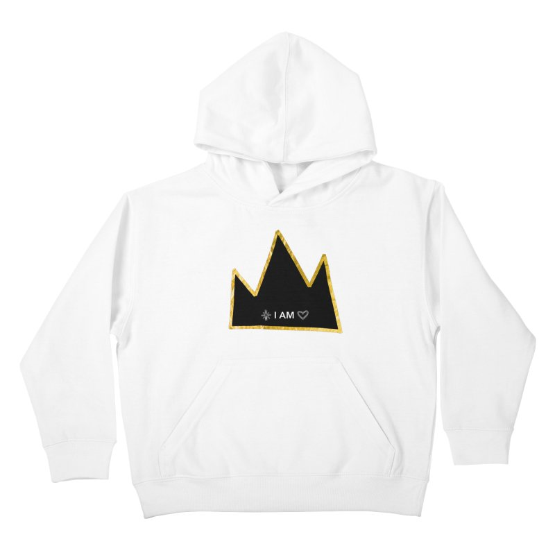 Royalty Kids Pullover Hoody by Doodles Invigorate's Artist Shop