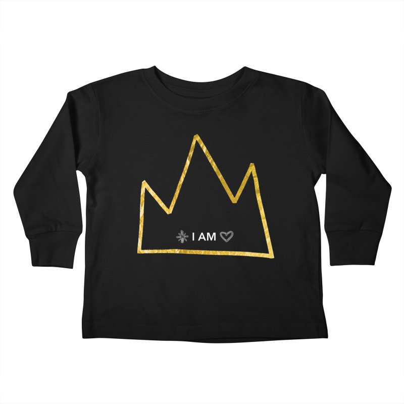 Royalty Kids Toddler Longsleeve T-Shirt by Doodles Invigorate's Artist Shop
