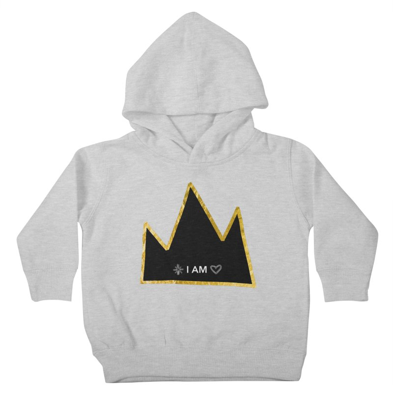 Royalty Kids Toddler Pullover Hoody by Doodles Invigorate's Artist Shop