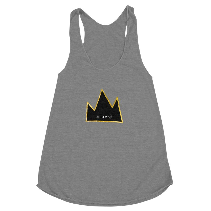Royalty Women's Racerback Triblend Tank by Doodles Invigorate's Artist Shop