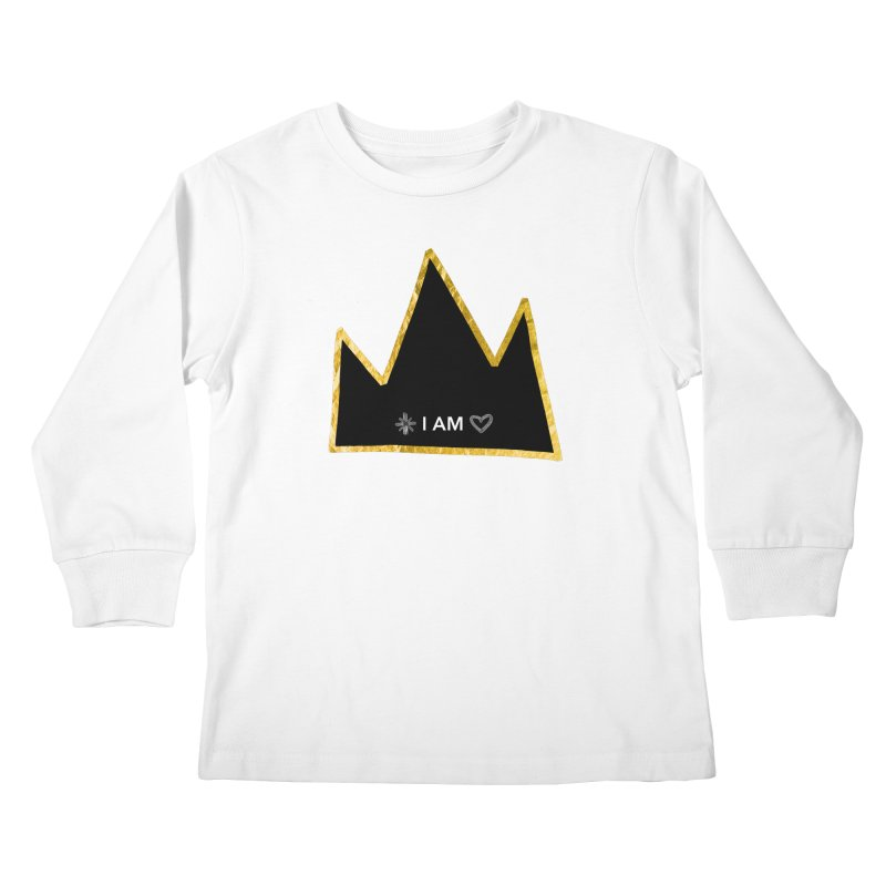 Royalty Kids Longsleeve T-Shirt by Doodles Invigorate's Artist Shop